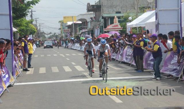 Spint Finish at Le Tour de Filipinas 2013