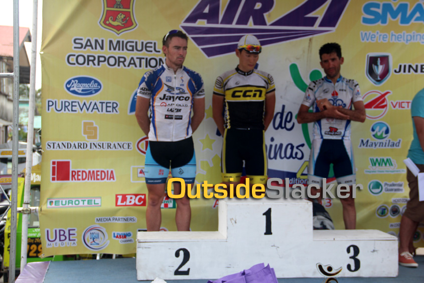 Le Tour de Filipinas Stage 1 Winners