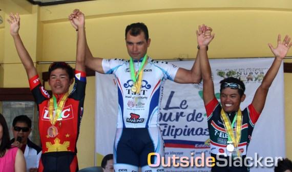 Le Tour de Filipinas 2013 Stage 3 Winners