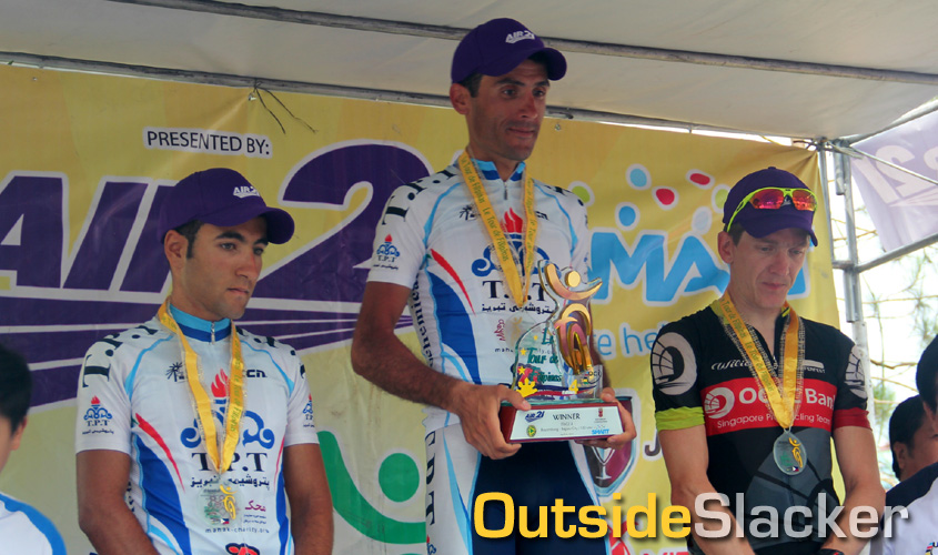 Le Tour de Flipinas 2013 Overall Winners