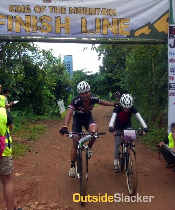 All Terra King of the Mountain 2013 finish line