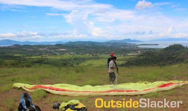 Paragliding in the Angono-Binangonan Hills