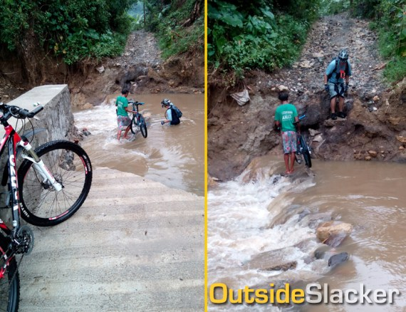 Collapsed Bridge in Puray