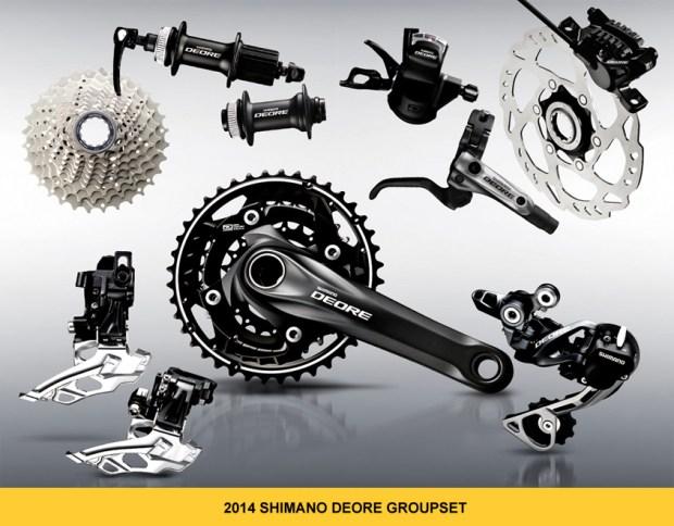 Shimano 2014 Deore Groupset