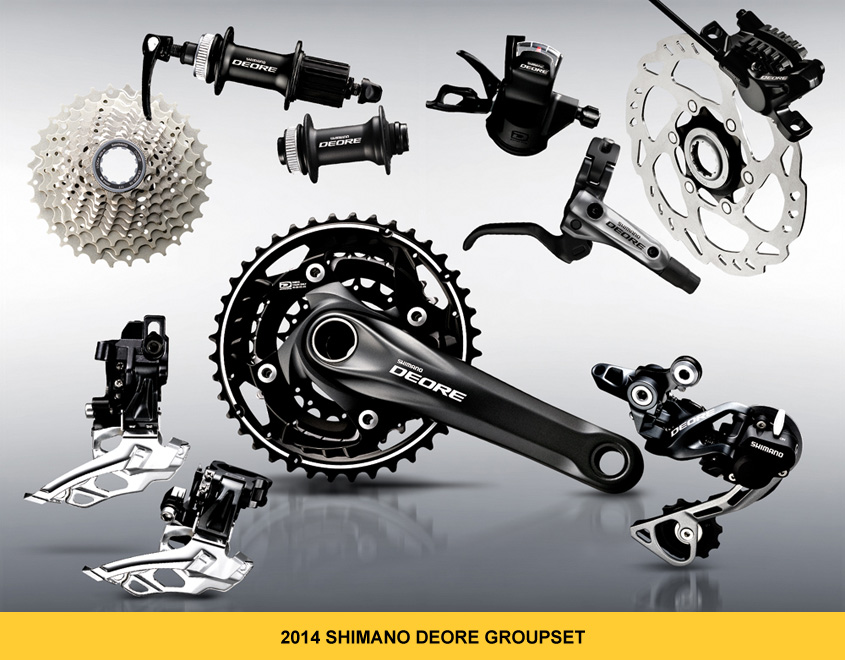 Shimano 2014 Deore Groupset