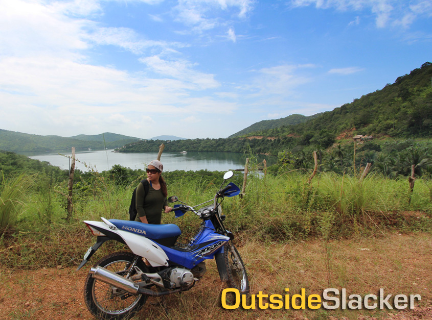 Motorcycling from Coron to Calauit