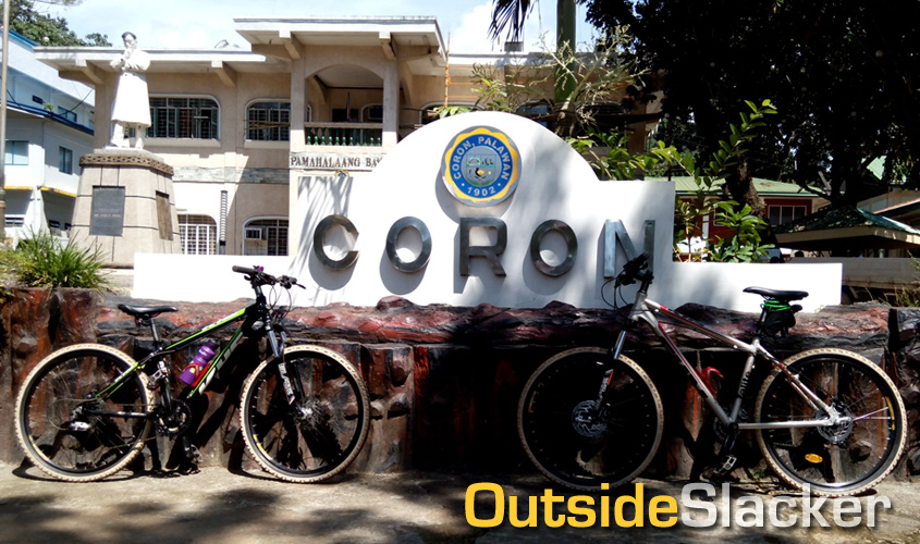 Biking Coron