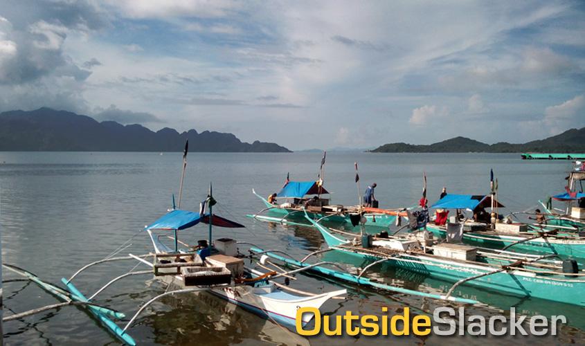 Fishing boats in Coron