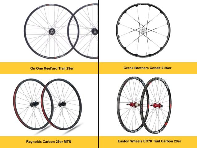 Mountain bike wheelsets
