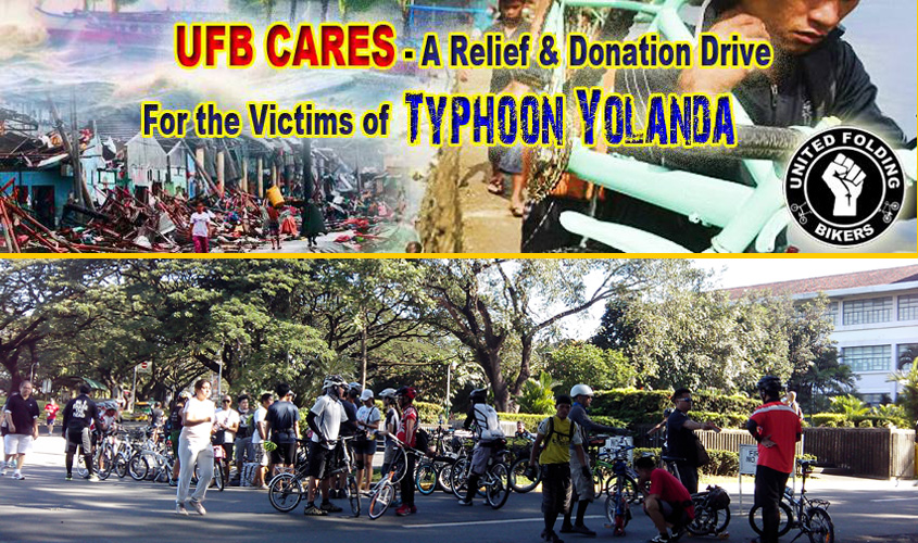 United Folding Bikers Relief Drive