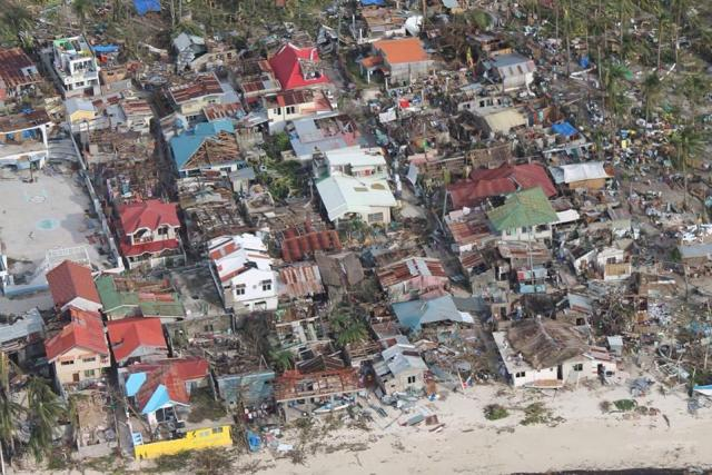 Malapascua Island after Supertyphoon Yolanda