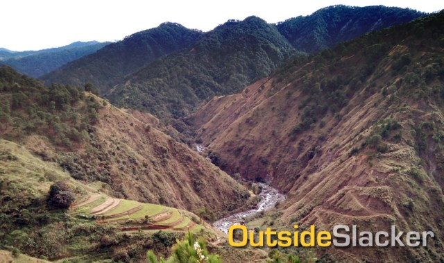 Bobok Bisal Trail in Bokod Benguet, Mountain Biking in the Philippines