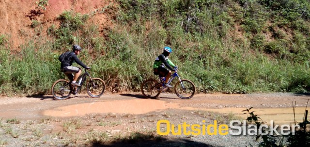 Timberland's Basic Trail and Roxas Trail, Mountain Biking in the Philippines