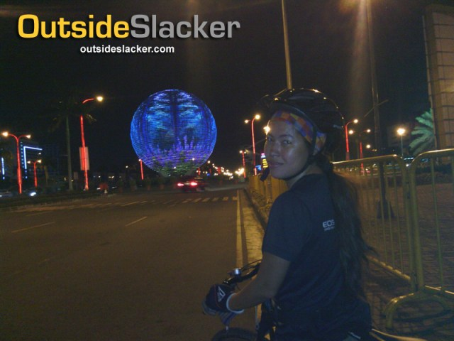 Bike Ride to Mall of Asia