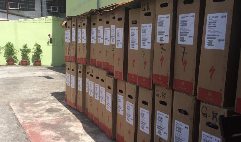 Bike Box Cardboard