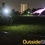 Testing Bike Lights on a Night Ride in UP
