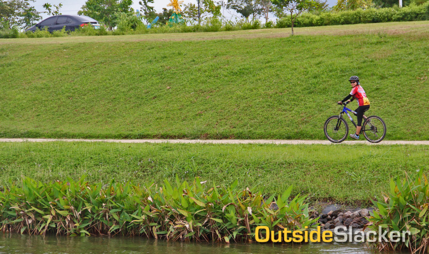 Biking in Nuvali