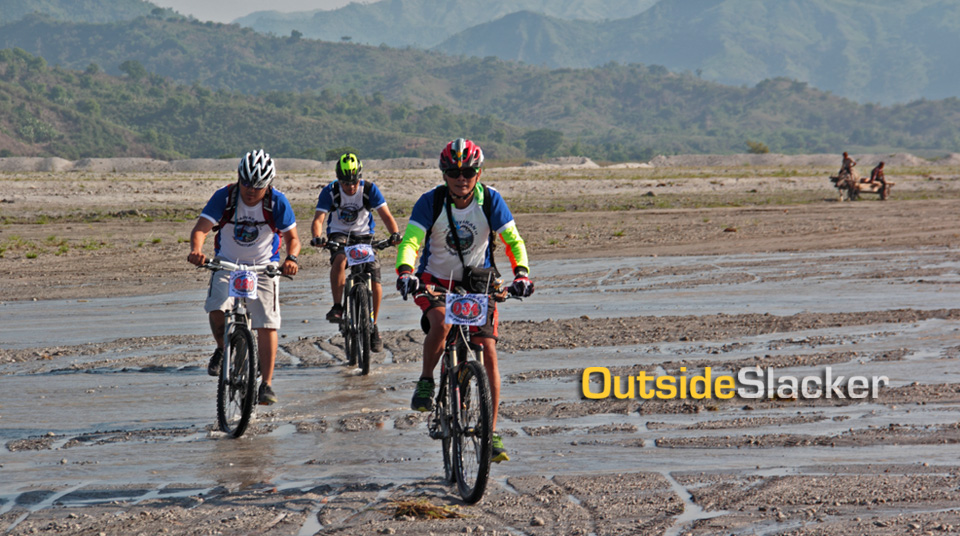 Biking on Mt. Pinatubo