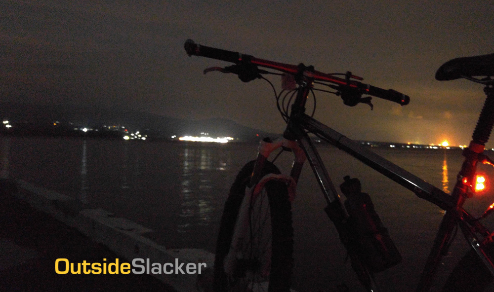 Night Biking in Corregidor