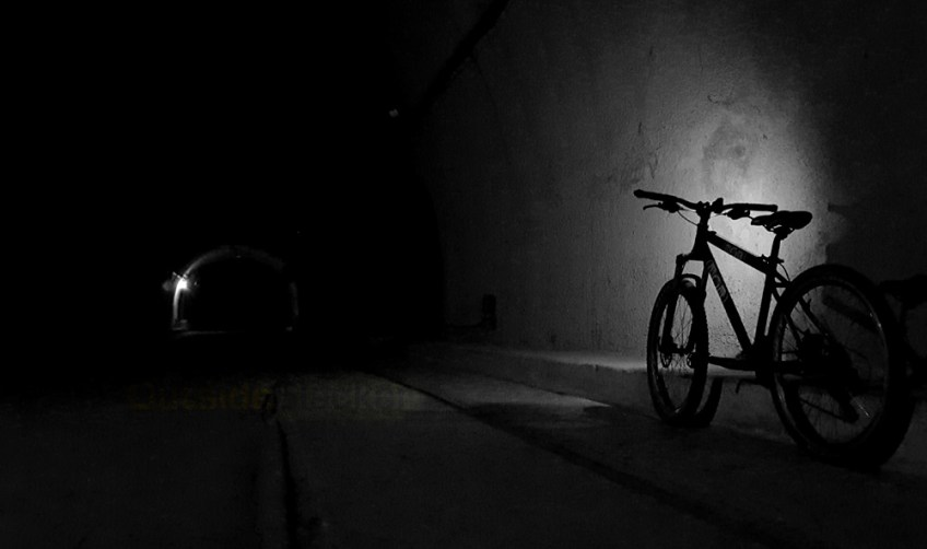 Biking Corregidor at Night