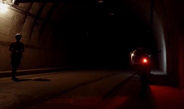 Biking Malinta Tunnel