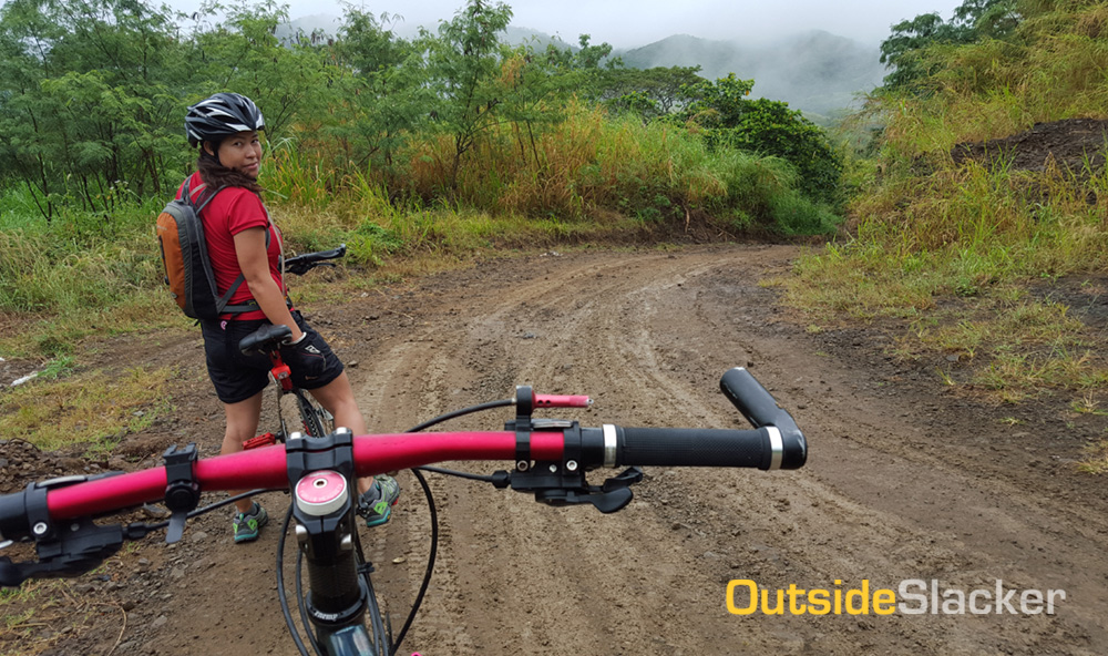 Biking to Laiban Dam