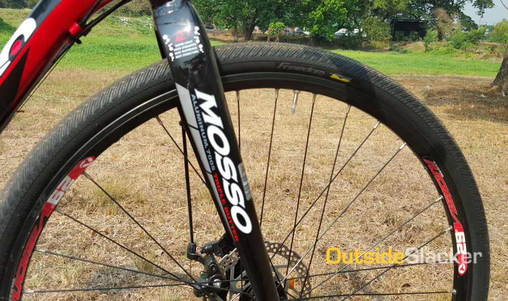 Mosso 26er rigid fork