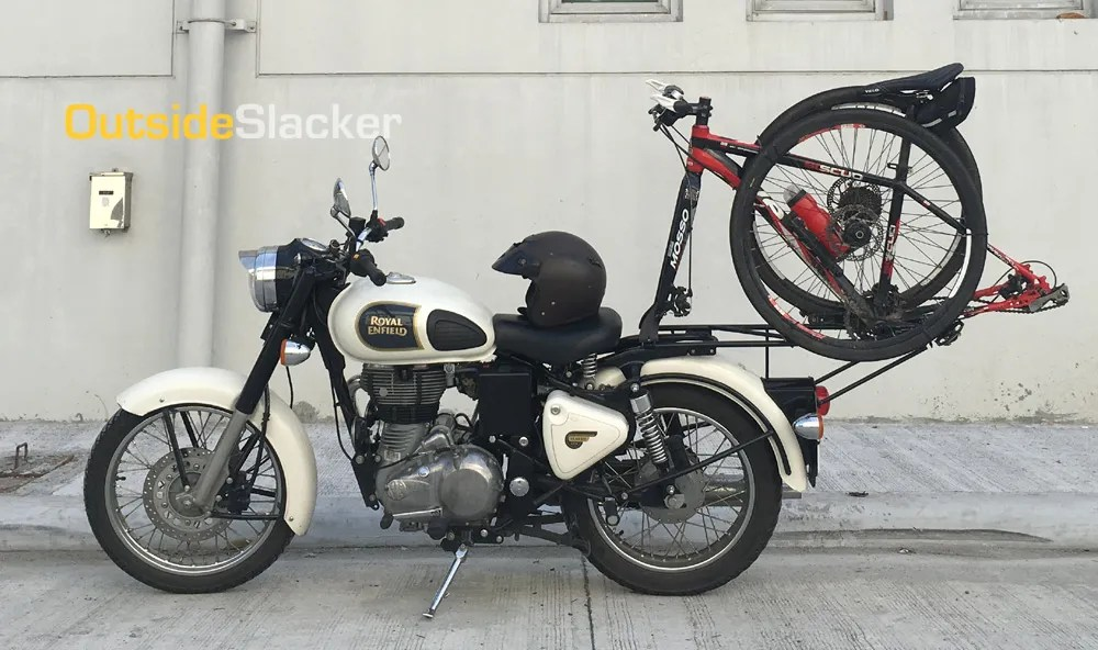 Royal Enfield Bike Rack