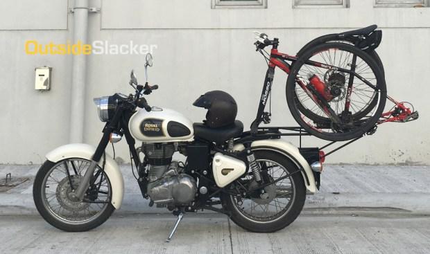 Royal Enfield Bike Rack