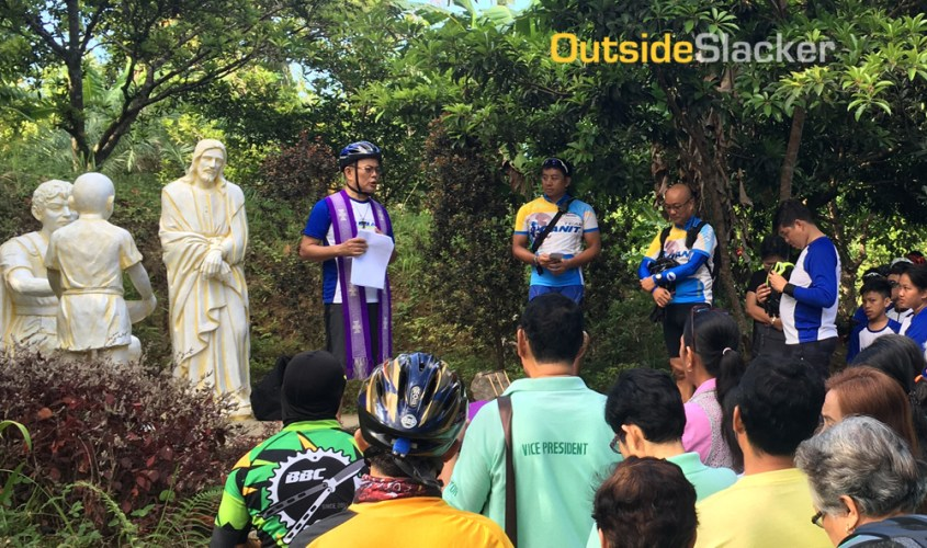 Each year, bikers across this Catholic country brave the scorching heat of summer to ride their bikes in a pilgrimage of sorts to at least seven churches. This practice has come to be called Bisikleta...