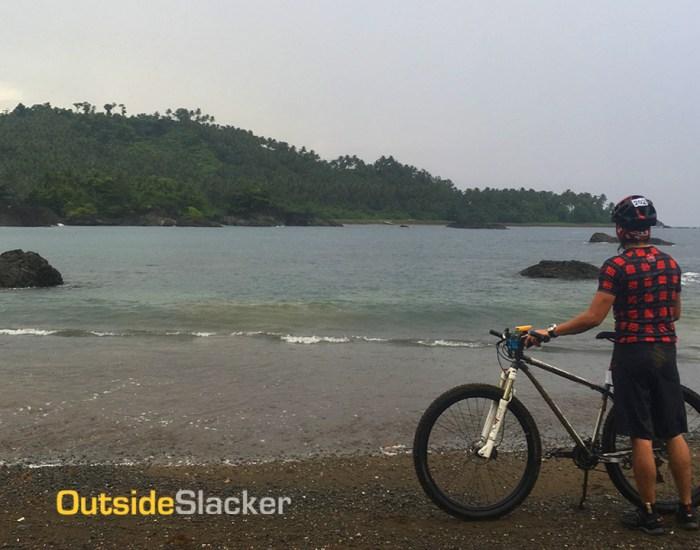 Biking in Gen. Nakar