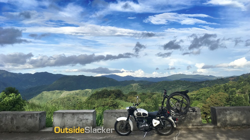 Motorcycling Marilaque