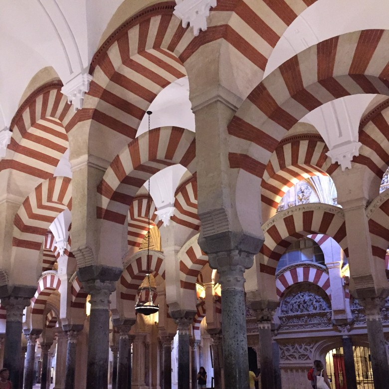 Candy Cane arches of Cordoba