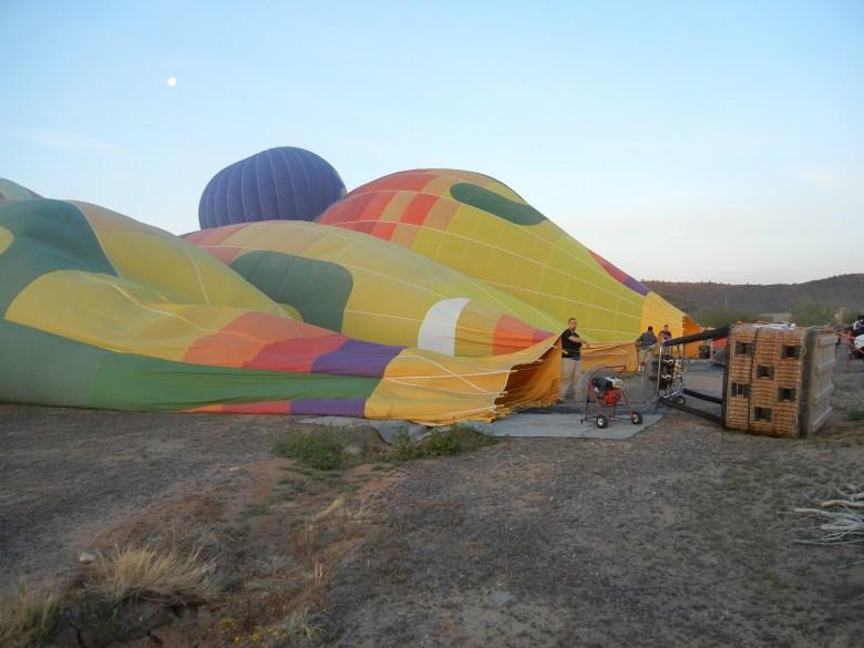OutsideSuburbia - Scottsdale Hotair Balloon ride