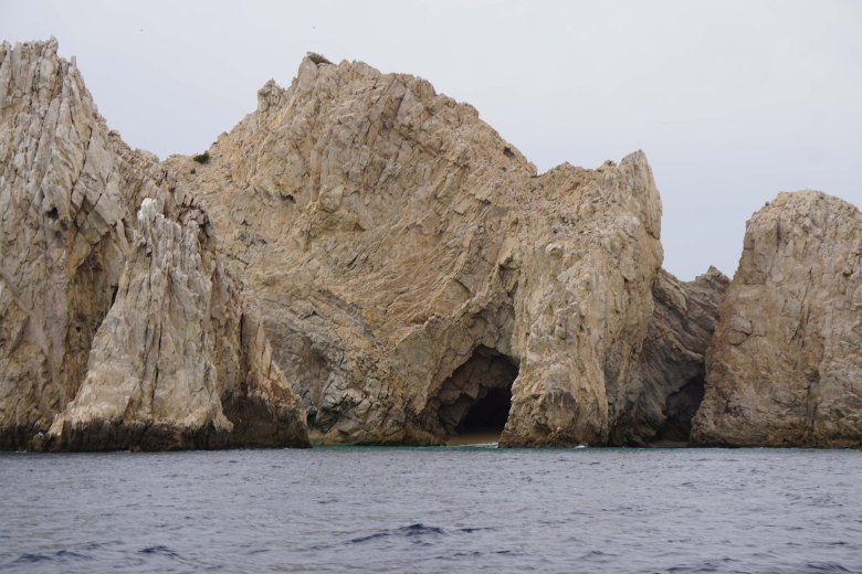 Visiting the Lands end at El Arco in Cabo San Lucas, Mexico