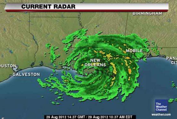 Flooding Orleans New Hurricane Katrina