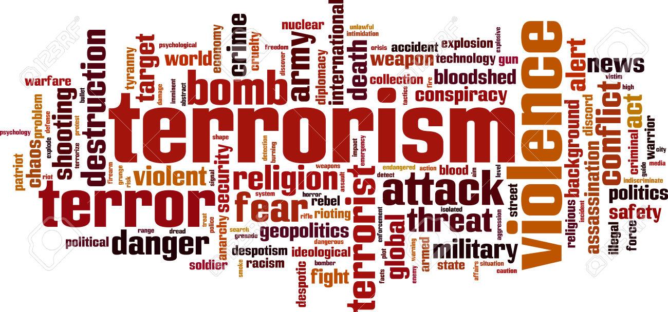 Resultado de imagem para terrorism word