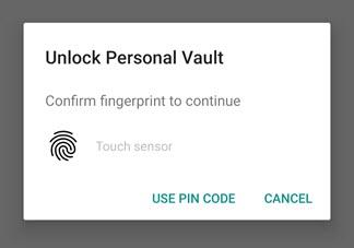 personal vault025 - OneDrive Personal Vault