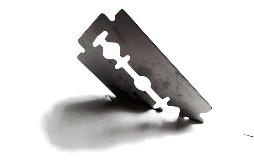 The razor blade of life