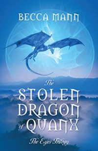 The Stolen Dragon of Quanx book cover