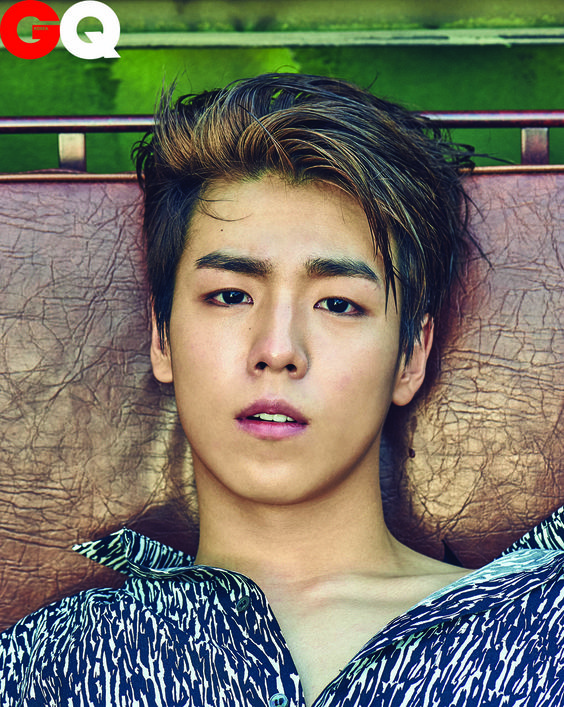 Lee Hyun Woo with Brown Hair