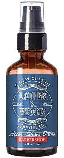 Lather & Wood Shaving Balm