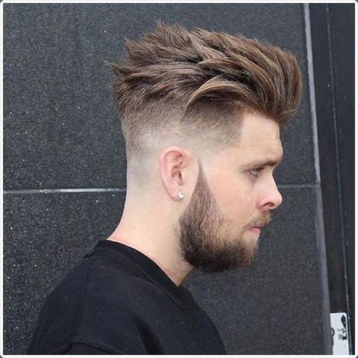 Mens Tapered Undercut
