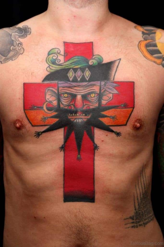 Pirate Cross Tattoo