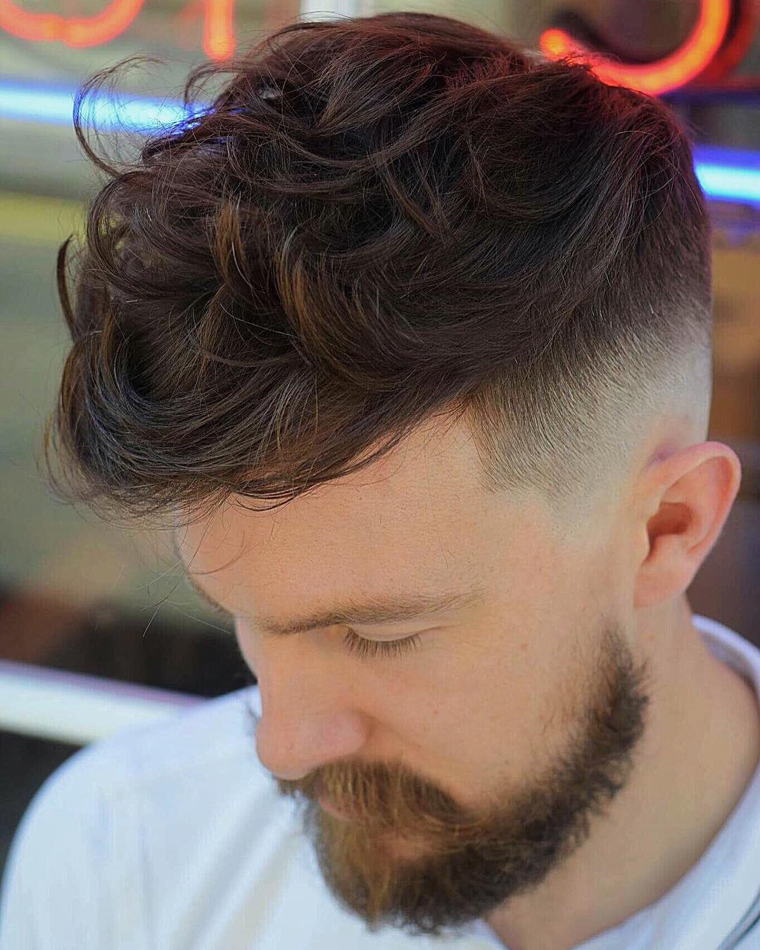 Textured Fade Messy