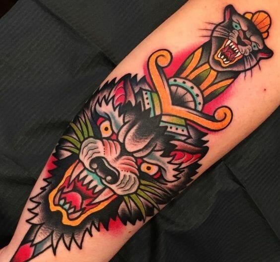 Cool Tattoo Old School