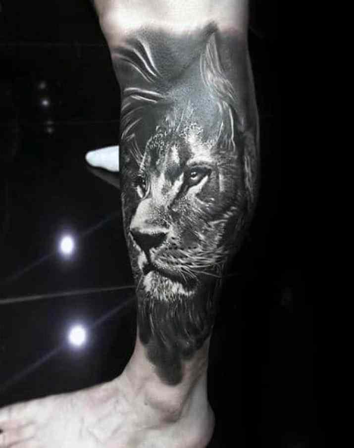 Cool Lion Leg Sleeve