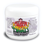 Knatty Dread Natural Dreadlocks cream is an alternative to dread wax for textured hair. Based on natural Lanolin and Shea butters (completely free of petrolatum) it is a powerful moisturizer that helps textured natural hair dread quickly.