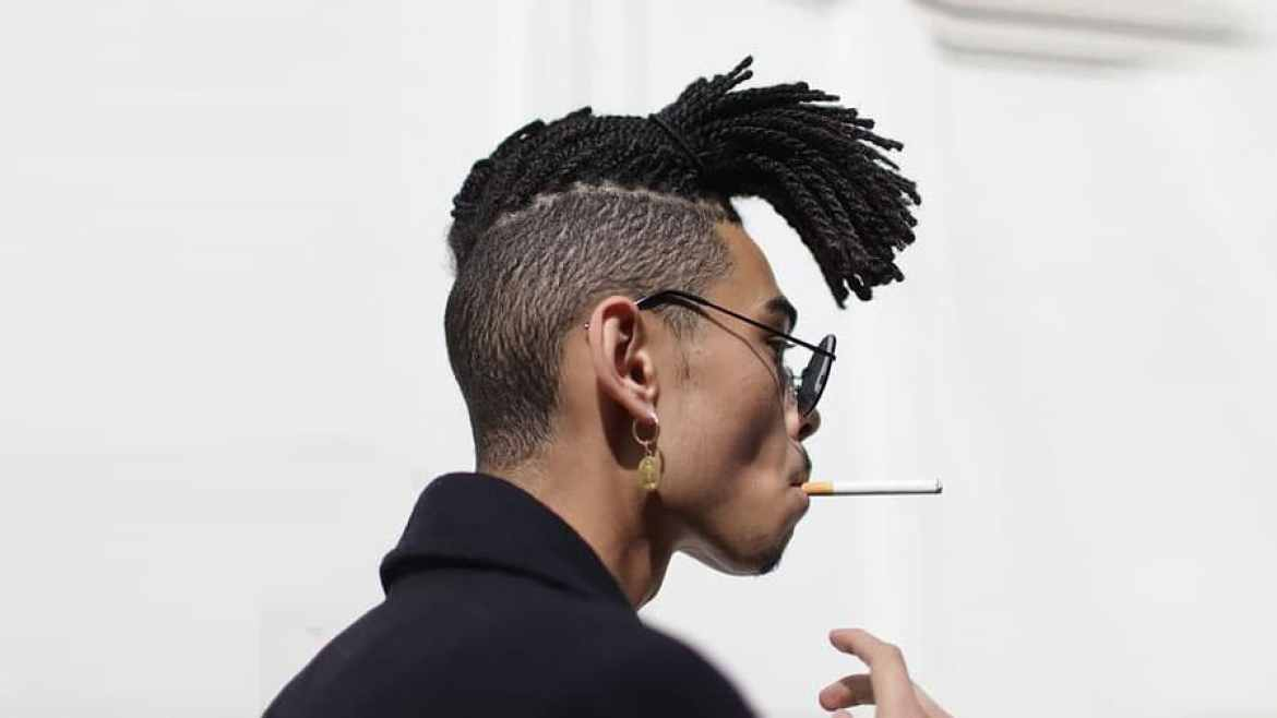 Undercut with Dreadlocks
