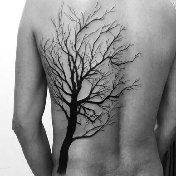 2f1941db4a8a6 101 Tree Tattoo Designs For Men - Outsons